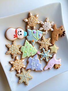 アイシングクッキー☆クリスマス♪