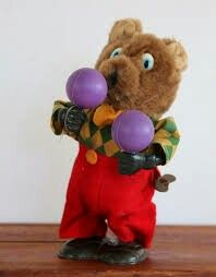 Bear wind-up toy