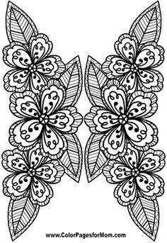 Flower Coloring Page 75