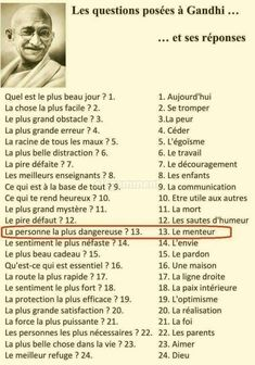 Questions to gandhi - # to - # Thought Quote Quotes Quotes Development… Positive Mind, Positive Attitude, Positive Quotes, French Language Lessons, French Lessons, Quote Citation, Quotes To Live By, Life Quotes, Quotes Quotes