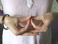 Mudra Photo Gallery: Mida-no Jouin Mudra--The left hand mirrors the right hand representing two worlds: Enlightment and Illusion Mindfulness Meditation, Guided Meditation, Sanskrit, Mantra, Hand Mudras, Les Chakras, Mind Body Spirit, Qigong, Acupuncture