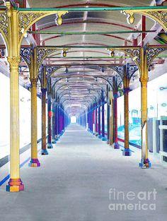 Artistic View - Albury station