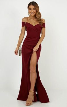 Complete your look with the One For The Money Dress In Wine from Showpo! Buy now, wear tomorrow with easy returns available. Ball Dresses, Evening Dresses, Prom Dresses, Summer Dresses, Formal Dresses, Elegant Dresses, Beautiful Dresses, Gorgeous Dress, Mode Outfits