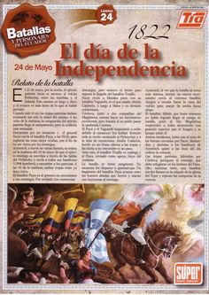 Día de la Independencia de Ecuador | 24 de mayo