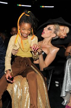 Willow Smith and Lady Gaga 2011