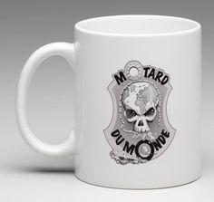 Tasse / Mug blanc MDM Mugs, Tableware, Dinnerware, Cups, Dishes, Mug, Tumbler