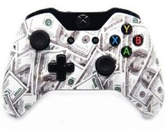 MONEY MONEY MONEY, http://yourmoddedcontrollers.com/product/money-xbox-one-modded-controller-40-mods-cod-ghosts/