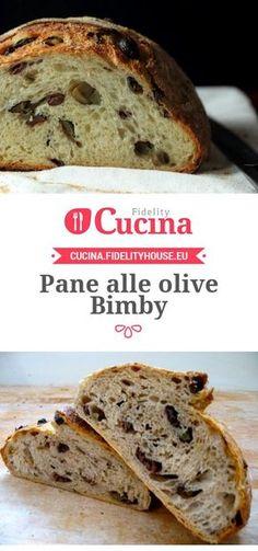 Il #pane alle #olive #Bimby è una preparazione molto sfiziosa, perfetta da servire anche in piccole porzioni con gli antipasti.