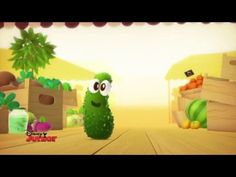 À table les enfants ! - Le cornichon French Teaching Resources, Teaching French, Disney Junior, Fruits And Veggies, A Table, Tube, Nutrition, Animation, Science