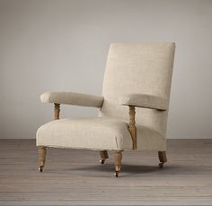 1880s Belgian Upholstered Club Chair
