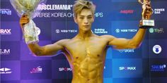 BEAT WIN's Youngjo talks about placing third at the '2016 MuscleMania' | http://www.allkpop.com/article/2016/07/beat-wins-youngjo-talks-about-placing-third-at-the-2016-musclemania