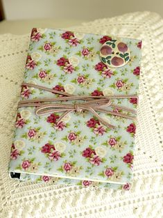 Fabric Covered Notebooks #fabric #notebooks #diy