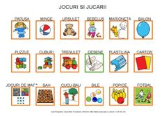 Jocuri si jucarii by Dana Horodetchi, via Slideshare Little Boys, Origami, Language, Aba, English, Board, Fashion, Play Dough, Puppet