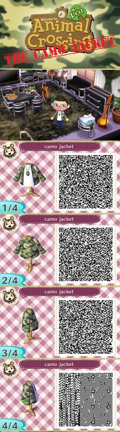 ACNL The Camo Jacket by iosonosmashboy