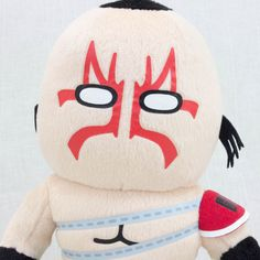 "Kinnikuman Mongol Man Plush Doll 8"" Panson Works JAPAN ANIME ULTIMATE MASCLE #PansonWorks"