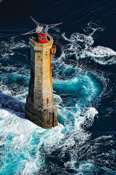 La Jument Lighthouse - Brittany, France