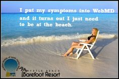 We're no doctor, but we can fix you up with a trip to the beach. Contact us for our special rates. #MyrtleBeach #Vacation #Beach #Getaway