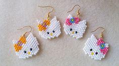 Hola amigos, un nuevo tutorial muy solicitado por muchos de vosotros, la Hello Kitty a peyote, espero os guste. PATRON HELLO KITTY: http://ncall100.blogspot....