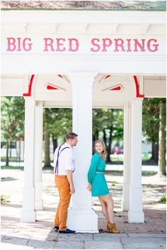 Carrie and Jared: Stylish Saratoga Springs Engagement {with ducks}