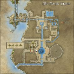 map maps sewer dungeon temple fantasy system cities pathfinder layout rpg cartographersguild maker ville plan town dd fantasiestadt water cartography