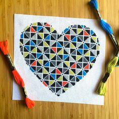 Geometric Heart Kit