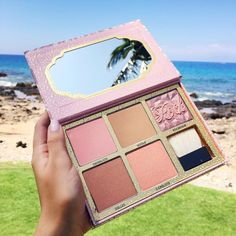 """""""Another new @benefitcosmetics product launching in April! The """"Cheekathon"""" palette features 5 full size products for $58! #benefitcosmetics…"""""""