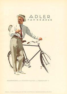 Ludwig Hohlwein, Adler Fahrrader