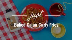 BAKED CAJUN CURLY FRIES Ingredients: ● 1 ½ teaspoons salt ● 2 teaspoons garlic…