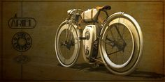 Just a car guy : Local Motors had a competition, internationally they had 90 concepts for a vintage looking motorized bike, this is the winner