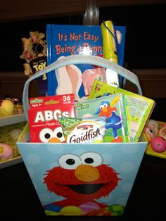 Birthday basket for 1 year old boy diy gifts pinterest easter basket for 2 year old toddler negle Choice Image