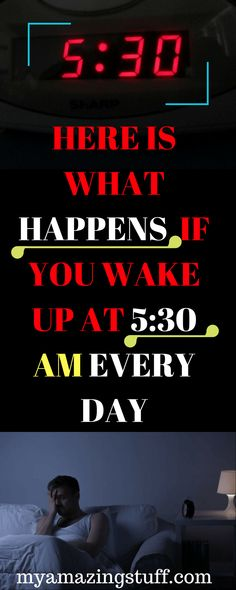 """The miracle morning"", a bestseller by Hal Elrod, suggests that waking up at 5:30 every morning"