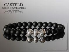 Le Bracelet Vintage de CASTELD, ce n'est pas un bijou, c'est bracelet pour Homme. #stylemen #braceletpourhomme  http://www.casteld.com/bijoux-homme