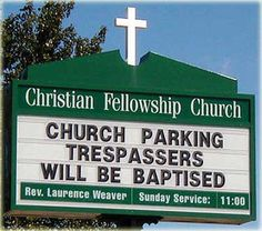 Love church signs