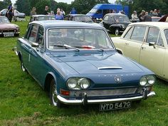 Vintage Car - Triumph 2000 [NTD 547G] 110710 Leighton Hall - My (Vicky) Dad used to have one of these, I used to chew the seat. I have always been a little strange.