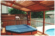 1000 Images About Hot Tub Privacy Spa Enclosures On