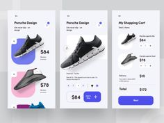 e commerce app exploration designed by Sudhan Gowtham for NICE 100 . Connect with them on Dribbble; the global community for designers and creative professionals. Web Design, Website Design Layout, App Ui Design, Store Design, Flat Design, Design Thinking, Ui Design Mobile, Ecommerce App, User Experience Design