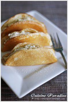 Cuisine Paradise | Singapore Food Blog | Recipes, Reviews And Travel: [Durian Feast] Durian Pancake vs Durian Steamed Cake vs Steamed Durian Egg Custard