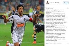 O zagueiro Edcarlos anunciou nesta sexta-feira sua saída do Atlético após três anos.