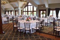 Glen Oaks Country Club in Farmington Event Venues, Wedding Venues, Wedding Ideas, Farmington Hills, Glen Oaks, Slate Roof, English Style, Banquet, Wedding Table