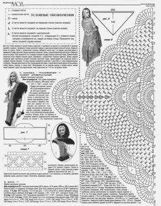 CROCHETBUTTERFLY: Beautiful Crochet Taupe Shawl Pattern with Diagram SHawl Patterns