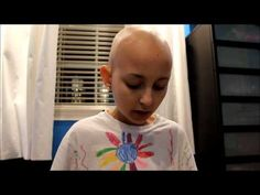 Kid with cancer.
