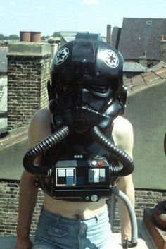 Star Wars: They dont look scarry out of there uniform.