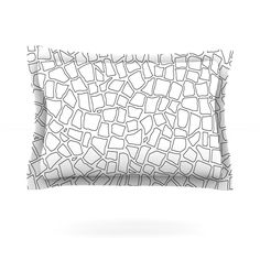 British Mosaic by Project M Featherweight Pillow Sham