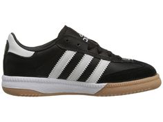 adidas Kids Samba(r) Millennium Core (Little Kid/Big Kid) Kids Shoes Black/Running White