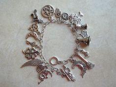 Magickal Charm Bracelet by CellDara on Etsy, $21.00