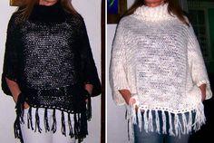 Ponchos algodón