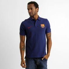c773d87d6d Camisa Polo Nike Barcelona Matchup Core - Marinho Netshoes