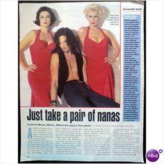 Bananarama. Just Take A Pair Of Nanas. 1 page feature Mirror magazine
