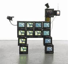 View Watchdog by Nam June Paik on artnet. Browse upcoming and past auction lots by Nam June Paik. Glitch, Nam June Paik, Art Articles, Gcse Art, Western Art, Installation Art, Art Day, Sculpture Art, Contemporary Art