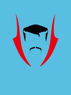 Fan art: a mix of minimalist posters! Doctor Strange by Paul Wade